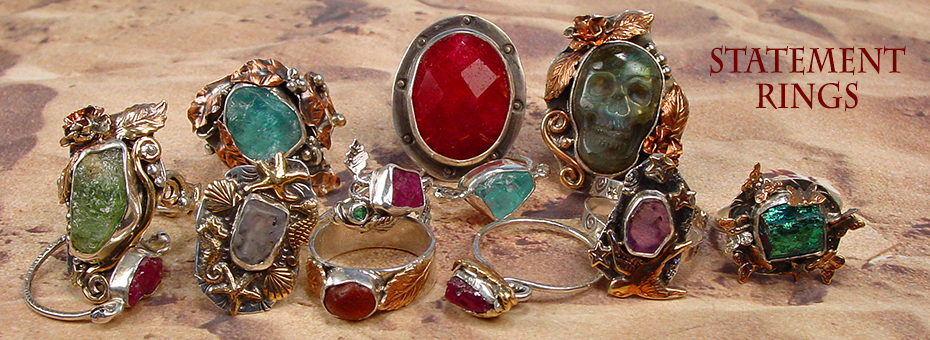 Beautiful Statement Rings