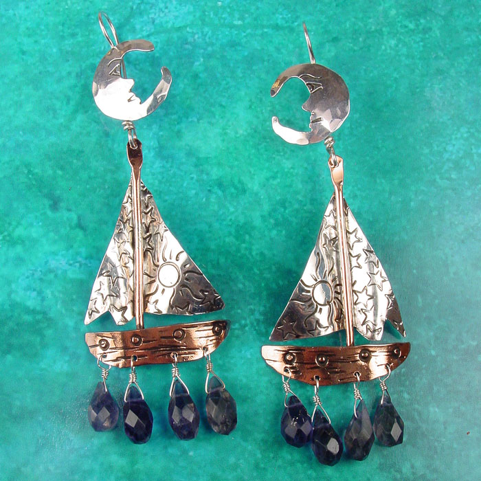 Twilight Sailing Earrings