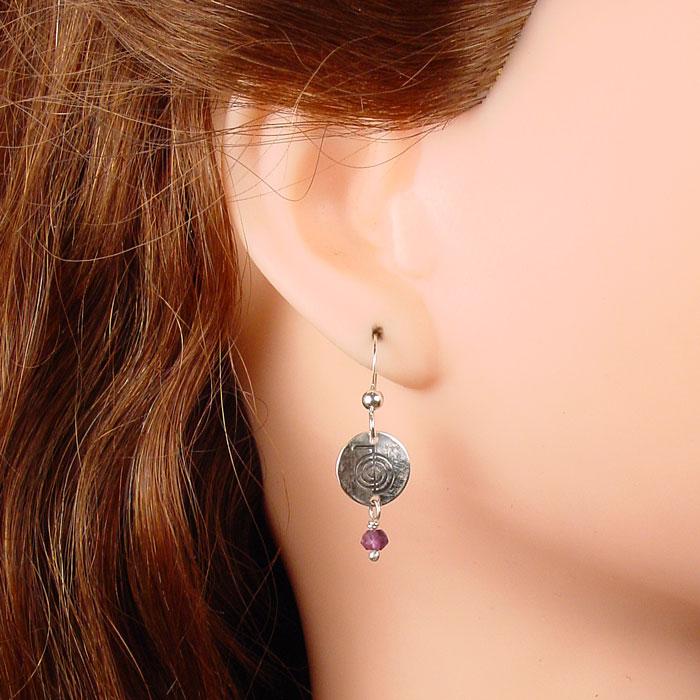 Reiki Energy Symbol Earrings