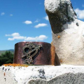 Voodoo Veve Bronze Cuff